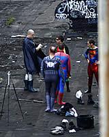 スーパーヒーローたちの秘密の集会