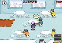 Penguin Diner ペンギン店員がレストランで給仕する接客シミュレーションゲーム