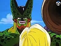 セルに犯される人造人間18号のエロアニメ