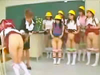 やりすぎ体罰!小●生を裸にさせる女教師