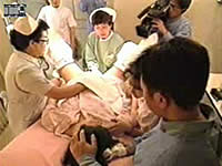 山本華世がテレビで見せた出産シーン