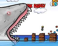 Paranormal Shark Activity ジャンプでサメから逃げまくるゲーム