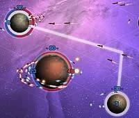 Solarmax 惑星間で艦隊を送り込む占領ゲーム