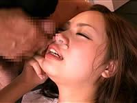 鼻からごっくん。鼻の穴でザーメンを吸引する女