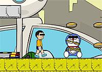 Doraemon and the Bad Dogs 某ネコ型ロボットを救出するアクションゲーム