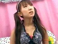 湘南でお馬鹿そうなロリビキニ娘に声をかけておっぱい野球拳!