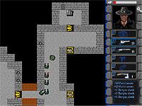 Castle Survive ガンマンが城の中を探索するアクションゲーム