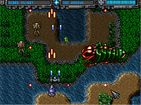 Battle of New Shanghai 惑星を侵略するシューティングゲーム
