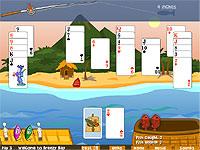 Solitaire: Deck Of Cods ソリティアで魚釣りをするカードゲーム