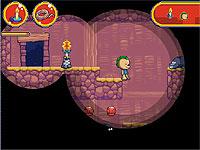 Tamus and Mitta 洞窟を探索してオモチャを集めるアクションゲーム