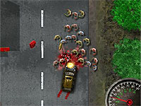 Zombogrinder 2 Revenge ゾンビを車でひいて突き進むカーアクションゲーム第二弾