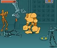 Tribot Fighter フォームチェンジするロボットのアクションゲーム