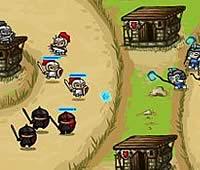 Incursion 拠点に兵士ユニットを配置して防衛ゲーム