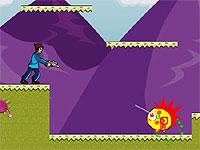 Epic Revenge 銃を持った少年が冒険するガンアクションゲーム