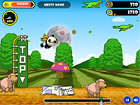 Flying Cookie Quest パンダをぶっ飛ばしてクッキーを集めるアクションゲーム