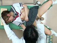 泣きながら産婦人科に来た女子校生を医者が中出し