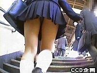 JK・JC限定!短いスカートの学生を盗撮したった