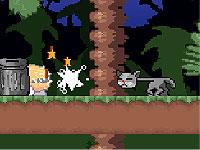 Cat Stretch 首がビヨンビヨン伸びる猫のアクションゲーム