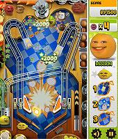 Annoying Orange Pinball ウザいオレンジのピンボールゲーム