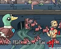 Super Duck Punch! おっさんが動物と対決するアクションゲーム