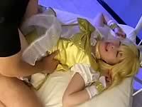 キュアピースがエロ同人みたいに犯されるエロ動画