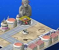 こちら未来開発宇宙支社 会社を発展させるパズル風シミュレーションゲーム