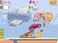 Desktop Racing 2 机の上をコースにして走るレースゲーム