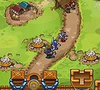 Stormy Castle 城からユニットを侵攻させる攻防ゲーム