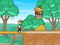 Papa Louie 2: When Burgers Attack! 悪いハンバーガーを退治するアクションゲーム