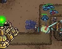 Swarm Defender 昆虫から基地を守る防衛ゲーム