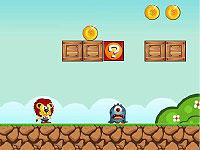 Super Julio ライオンの「Julio」君が冒険するマリオ風アクションゲーム
