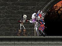 Meaty Boner ガイコツの格闘アクションゲーム