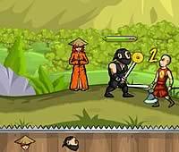 Ninja and Blind Girl 2 盲目の少女を守る忍者のゲーム第二弾