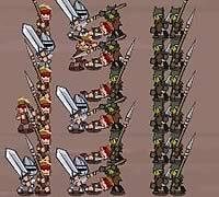 BattleCry 兵士ユニットを編成してバトルゲーム