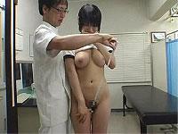 ブルマっ娘にセクハラ身体検査