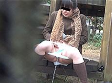 洋式派の女はどうやって野外放尿するか?