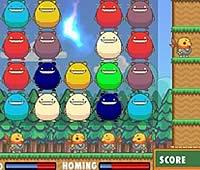 スワップパズル パネルをそろえてモグラを攻撃ゲーム