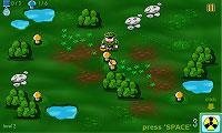 Shroom Boom 軍人さんが地雷原でキノコ狩りするアクションゲーム