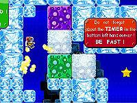 Fire and Frost 氷の世界でクリスタルを集めるアクションゲーム