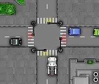 Crash Town 標識を立てて交通整理ゲーム