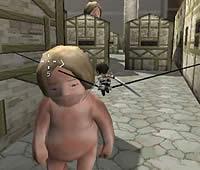 巨人の猎手 マルチプレイ対応の『進撃の巨人』アクションゲーム