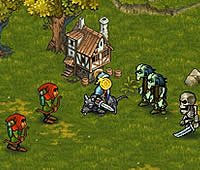 Royal Offense game ユニットを生産してモンスター討伐ゲーム