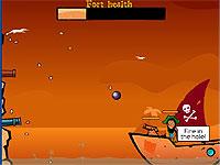 Awesome Pirates 大砲を撃って海賊どもを追い払う砦防衛ゲーム