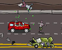Awesome Zombie Exterminators 車でゾンビを轢いて駆除ゲーム