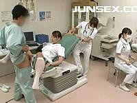 看護婦さんに性機能を検査してもらったwww
