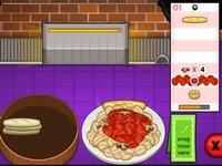 Papa's Pastaria パスタ屋さんで接客調理するバイトシミュレーションゲーム