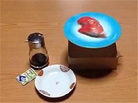一人でも楽しめる回転寿司マシーン