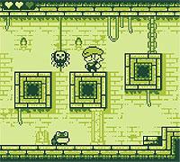 Tiny Dangerous Dungeons 少年がダンジョンを探索するGB風グラフィックのアクションゲーム