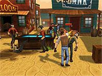 Saloon Brawl 2 西部の街で保安官が乱闘する格闘アクションゲーム