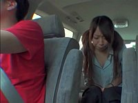 アイドルの卵の少女に車でトイレを我慢させてみた
